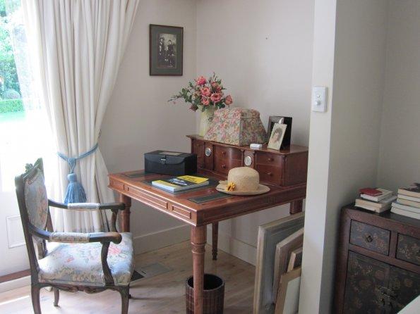 Host farm desk area