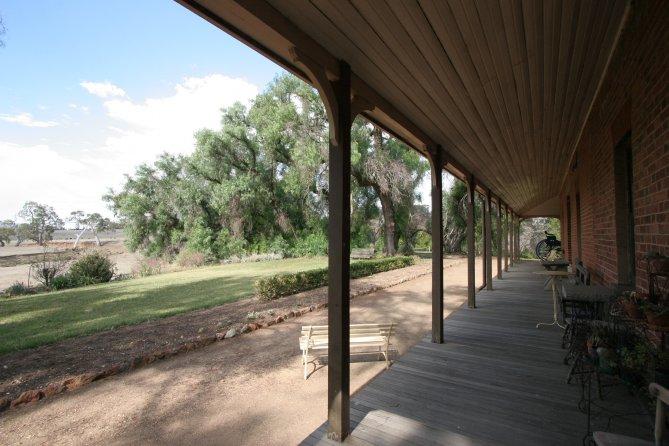Verandah and yard