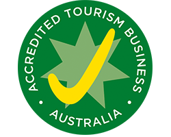 Accredited Tourism Business tick